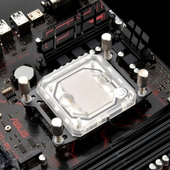Syscooling Al-c55w (AMD) PC water cooling AMD CPU water block with RGB for AM4 Ryzen socket 3 5 7 9