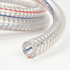 Syscooling Anti-bend Water-cooled Water Pipe Is Transparent, Inside And Outside 15mm Thick Pvc Pipe Contains Steel Wire