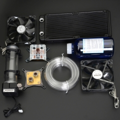 Syscooling pc water cooling kit liquid computer cooler kits for CPU GPU water cooling
